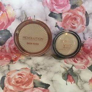 Makeup Revolution Ice Highlighter Duo